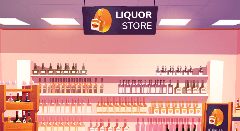 Liqour Store Industry Marketing